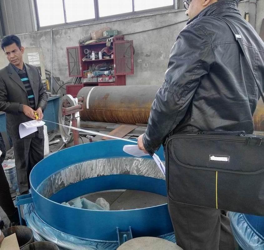 clients were measuring bellows compensator