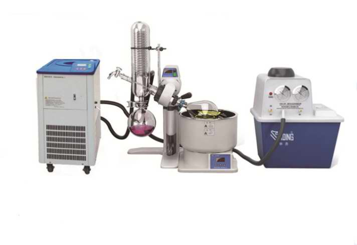 laboratory vacuum pump use with rotovap and chiller