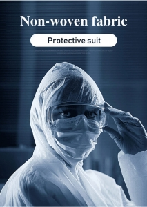 Medical disposable non-woven splashproof protective clothing